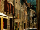 Houses and Other Buildings  Rue St Jean  Villefranche de Conflent  Languedoc-Roussillon  France