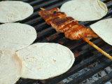 Street Stall Food Cooking  Near Playa de Los Muertos  Mexico