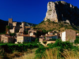 Village of St Jean-De-Bueges at Evening  Herault  Languedoc-Roussillon  France