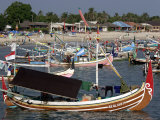 Fishing Fleet  Jimbaran  Bali  Indonesia