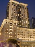 The Peninsula Hotel at Dusk  Tsim Sha  Tsui  Hong Kong  China