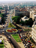 University Square and Ic Bratianu Blvd  Bucharest  Romania