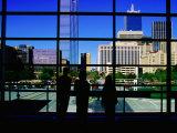Interior of Convention Center  Dallas  Texas