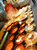 Variety of Dishes Available at Market  Namdaemun Market  Seoul  South Korea
