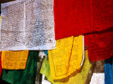 Prayer Flags  Jokhang Temple  Lhasa  Tibet  China