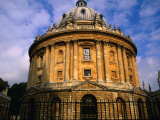 The Radcliffe Camera  Circular Library Built in 1748 on the Grounds of Oxford University  England