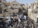Market in Old Town  San'a  San'a  Yemen