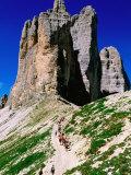 Passo Lavaredo  Dolomiti di Sesto Natural Park  Italy