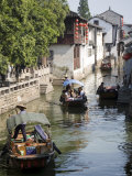 Ancient Waterways  Zhouzhuang  Jiangsu  China