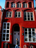 14th Century Building Housing Markgraf Restaurant  Lubeck  Schleswig-Holstein  Germany