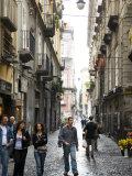 Street in Centro Storico  Naples  Campania  Italy