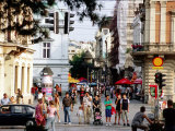 Pedestrian Area of Knez Mihailo  Belgrade  Serbia