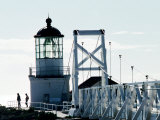 Pt Bonita Lighthouse at Marin Headlands  Marin County  California