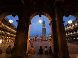 Basilica di San Marco and the Campanile  Venice  Italy