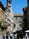 Piazza 4 Novembre  Perugia  Umbria  Italy