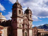 18th Century Cathedral Exterior  Cuzco  Peru