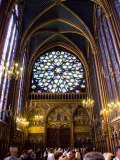 Stained Glass Windows of the Upper Chapel of Ste-Chapelle  Paris  France