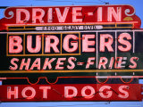 Drive-In Neon Sign  San Francisco  California