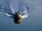 Powerboat in Coastal Waterway  Georgia