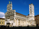San Michele in Foro  Lucca  Tuscany  Italy