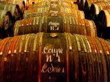 Barrels of Hennessy Cognac  Cognac  Poitou-Charentes  France