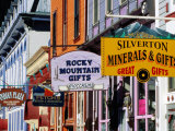 Shop Signs  Greene Street  Silverton  Colorado
