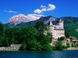Chateauvieux in Village of Duingt on Shore of Lac d'Annecy in Savoy Region  Rhone-Alpes  France