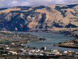 Dalles Town  Columbia River Gorge  Oregon