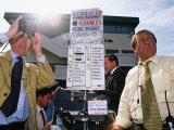 Seamus Mulvaney Bookmakers  Galway Horseraces  Ireland