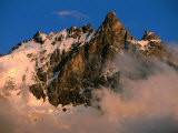 Les Ecrins National Park  La Meije Highest Peak in Park  France