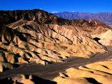 Zabriskie Point  Badlands  Death Valley National Park  California