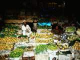 Multitude of Fresh Produce to Choose from at the Khyber Bazaar  Peshawar  Pakistan