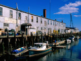 Old Port Exchange Area  Fishing Docks  Portland  Maine