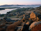 Millerton Lake Landscape  San Joaquin  California