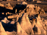 Bisti Badlands  Bisti Wilderness Area  New Mexico