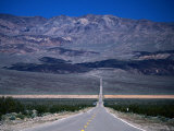 Park Road  Death Valley National Park  California