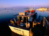 Fishing Boats at Sunrise  Boothbay Harbor  Boothbay  Maine