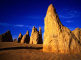 Eroded Rock Formations  Pinnacles Desert  Western Australia