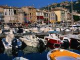Harbour  Bouches-Du-Rhone Region  Cassis  Provence-Alpes-Cote d'Azur  France