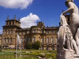 Blenheim Palace  Now a Unesco World Heritage Site  Blenheim Palace  Oxfordshire  England