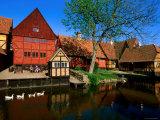 Den Gamle by Old Town Buildings  Arhus  Denmark