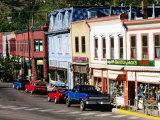 Street Scene  Manitou Springs  Colorado
