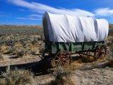 Covered Wagon  Historic Oregon Trail  Baker City  Oregon