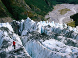 Walkers on Franz Josef Glacier  Franz Josef Glacier  New Zealand