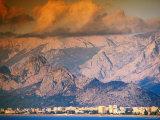 Mediterranean Coastline and Mountains  Antalya  Turkey