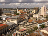 Cityscape Showing Harbour and Lutheran Church  Dar Es Salaam  Tanzania