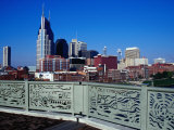 Shelby Street Pedestrian Bridge  Nashville  Tennessee