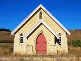 Abandoned Church at Awamoke  Otago  New Zealand