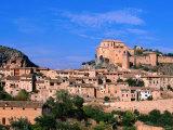 Alquezar Town  Alquezar  Aragon  Spain