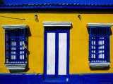 Brightly-Painted House on Main Street  Los Puertos de Altagracia  Zulia  Venezuela